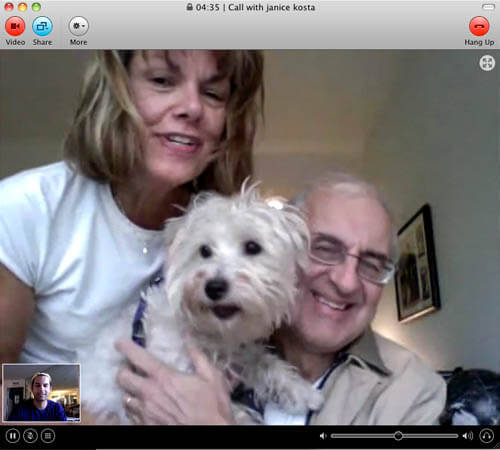 Mom and Dad and Ellie